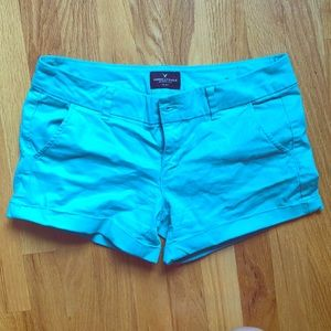American Eagle Teal Size 4 Shorts
